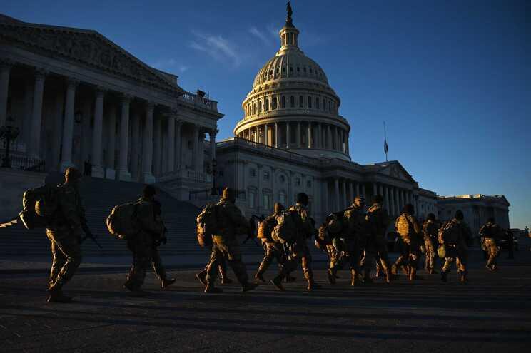 O chefe do Pentágono aprovou a extensão da presença de militares no Capitólio, em Washington, até 23