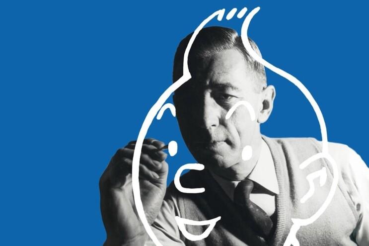 Hergé também deixou marca na publicidade e artes plásticas