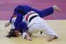 Judoca Bárbara Timo em competição