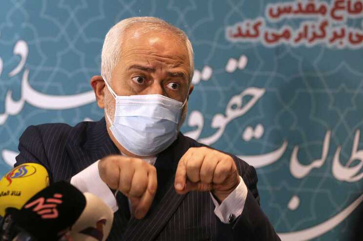 Ministro iraniano dos Negócios Estrangeiros, Mohammad Javad Zarif