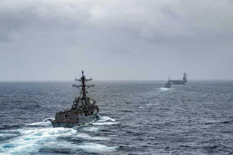 Marinha dos EUA reportou o ataque