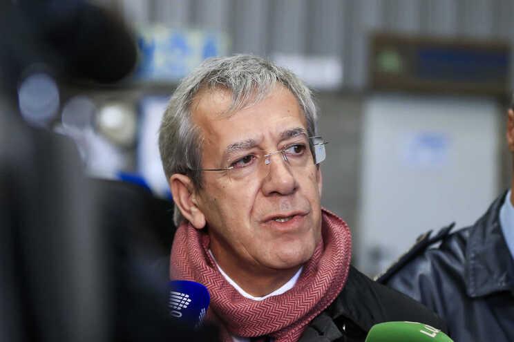 O secretário de Estado Adjunto e da Administração Interna, Antero Luís