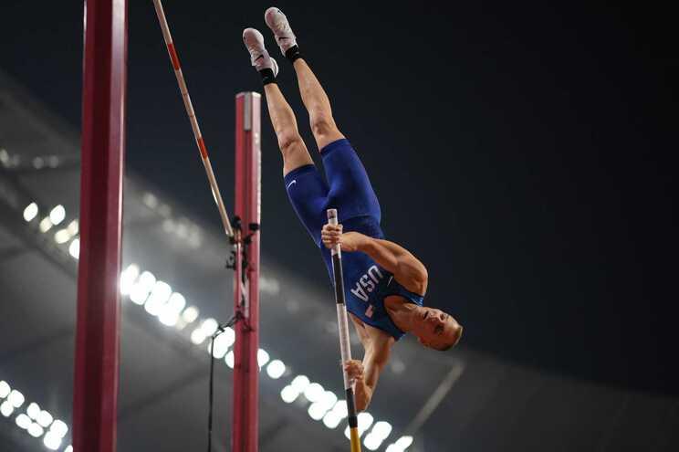 Sam Kendricks, de 28 anos, era apontado como um dos favoritos à conquista da medalha de ouro no concurso