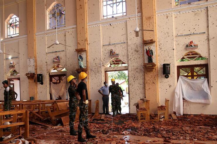 Governo identifica grupo que realizou atentado no Sri Lanka