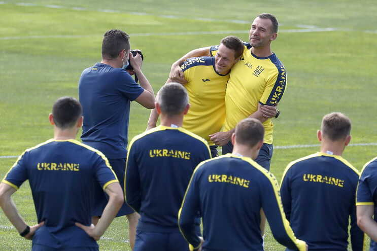 Ucrânia altera equipamento a pedido da UEFA