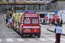 Ambulâncias têm-se acumulado nas urgências do Santa Maria