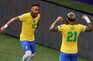 O Brasil venceu este domingo