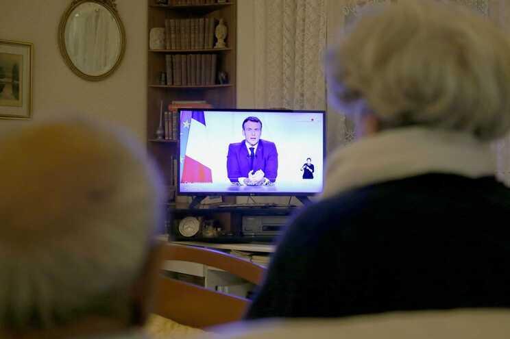 Macron fez comunicação ao país