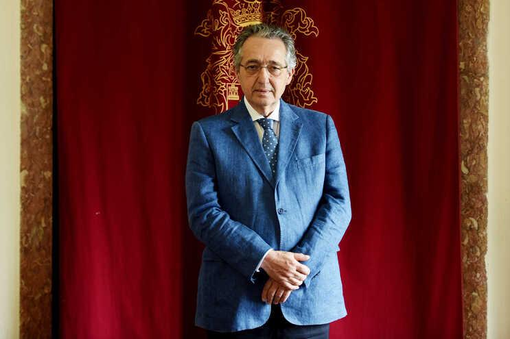 José Ribeiro e Castro, presidente da Sociedade Histórica da independência
