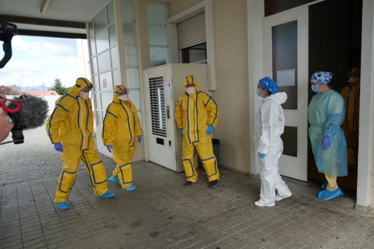 Área Dedicada Covid-19 estava instalada no Hospital da Misericórdia do Marco de Canaveses