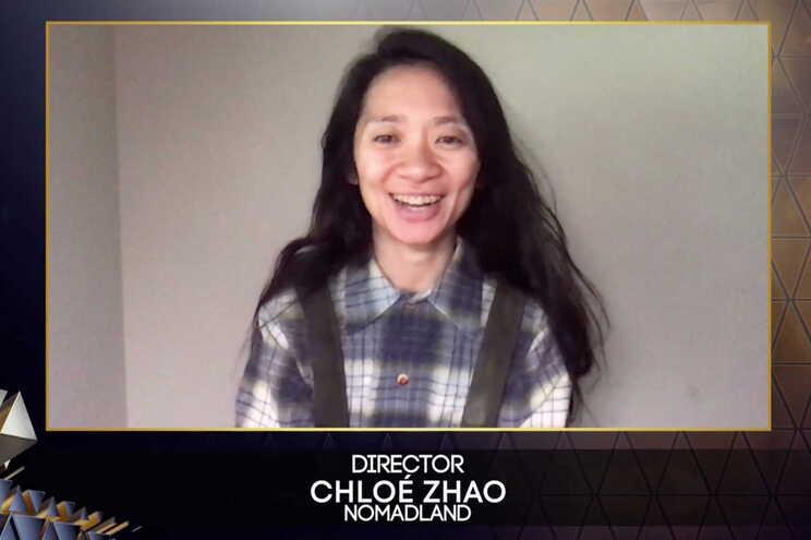 """Chloe Zhao, realizadora de """"Nomadland"""""""