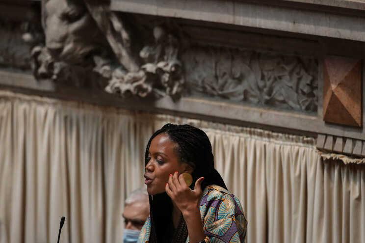 Joacine Katar Moreira, deputada não inscrita
