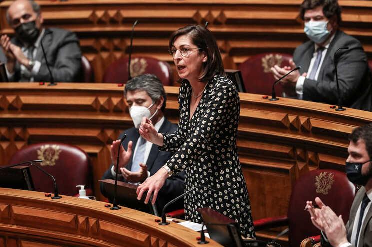 Ana Catarina Mendes apresentou o projeto de lei