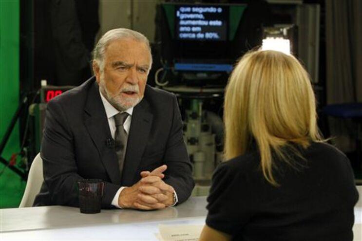Alegre deu entrevista na RTP