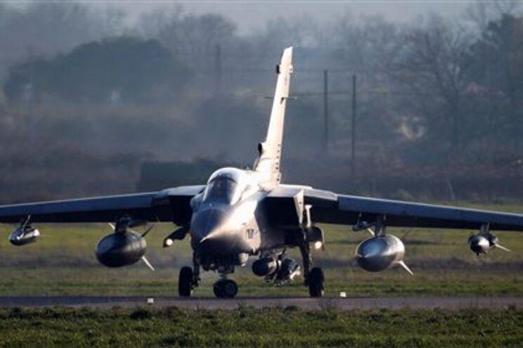 Um Tornado da Força Aérea britânica