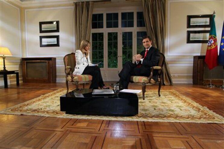 Passos Coelho deu entrevista a Judite de Sousa