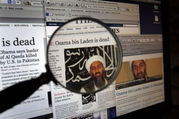 Corpo de Bin Laden foi lançado ao mar