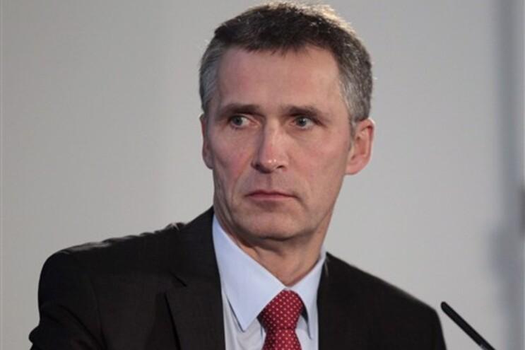 Primeiro-minsitro Jens Stoltenber