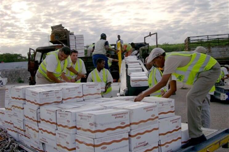 Ajuda alimentar internacional chegou quarta-feira a Mogadíscio