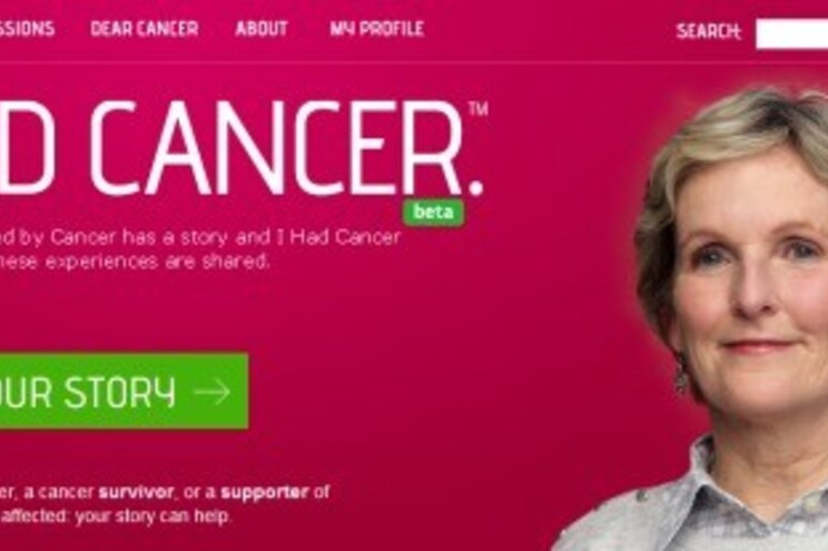 Site criado para funcionar como rede social de doentes com cancro