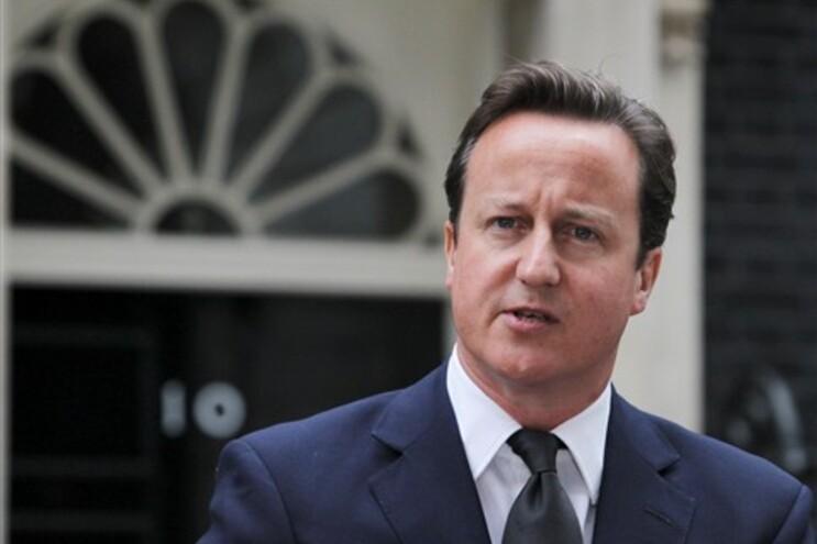 David Cameron, primeiro-ministro inglês