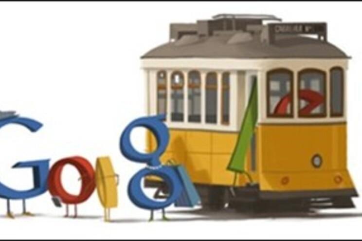 """Doodle"" sobre eléctricos de Lisboa"