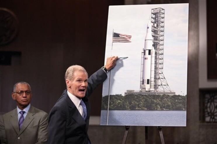 O novo sistema de lançamento da NASA pode levar o Homem até Marte