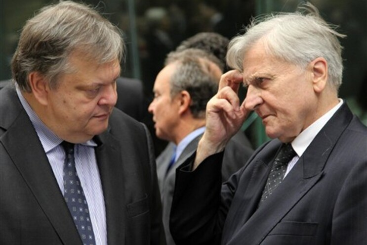 Ministro das Finanças grego e presidente do Banco Central Europeu