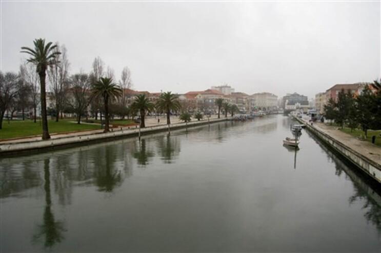 Canal Central, em Aveiro
