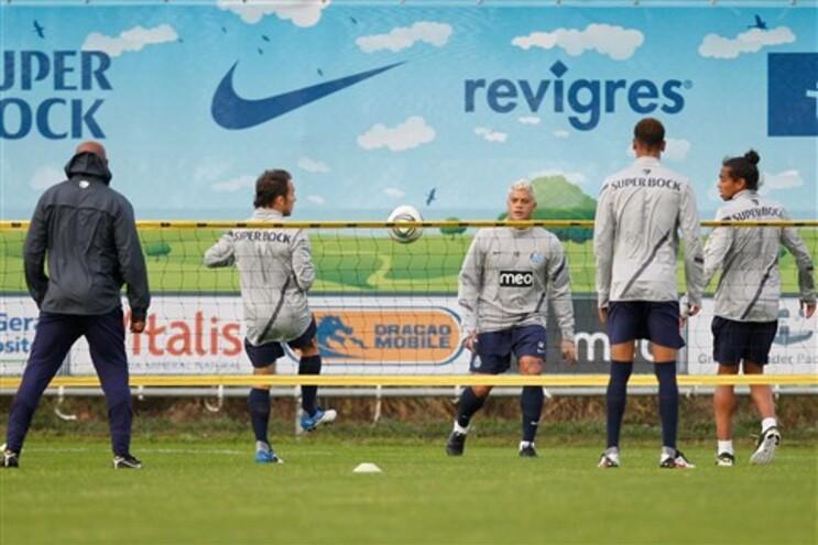 Silêncio no regresso do F. C. Porto aos treinos