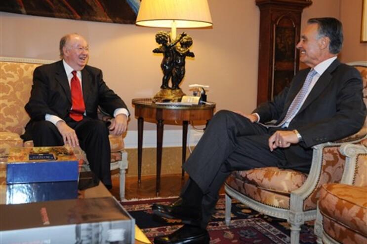 Alberto João Jardim reuniu esta manhã com o presidente da República