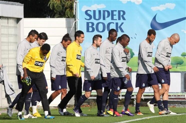 F.C.Porto treinou este domingo de manhã