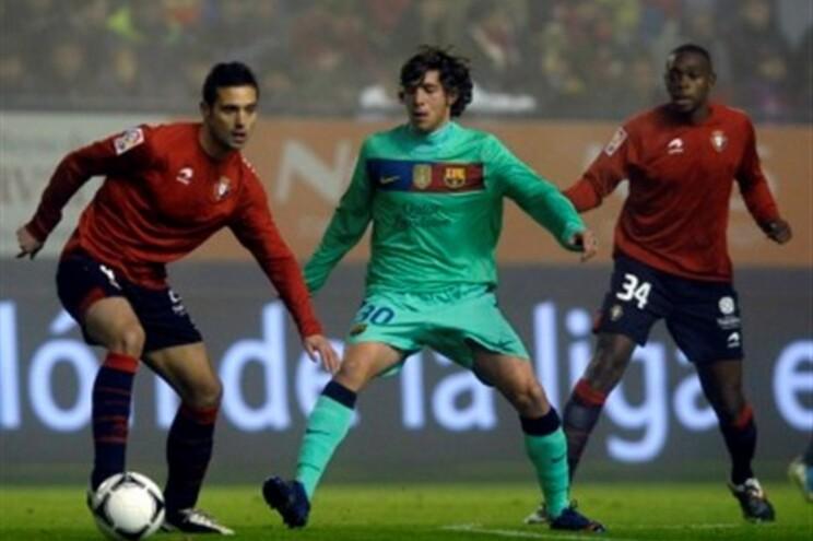 Messi marcou o golo que deu a vitória ao FC Barcelona
