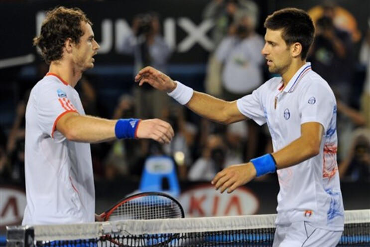 Andy Murray e Novak Djokovic