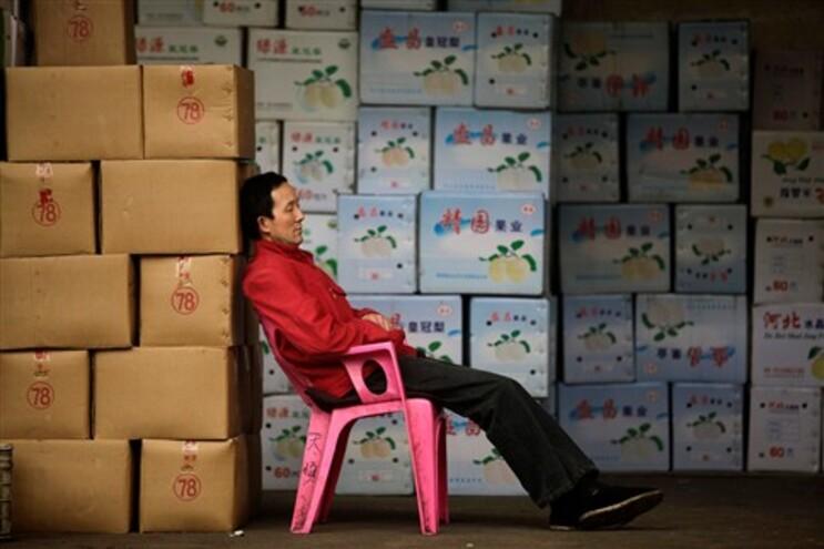 A economia chinesa cresceu em média 9,9% ao ano ao longo das últimas três décadas