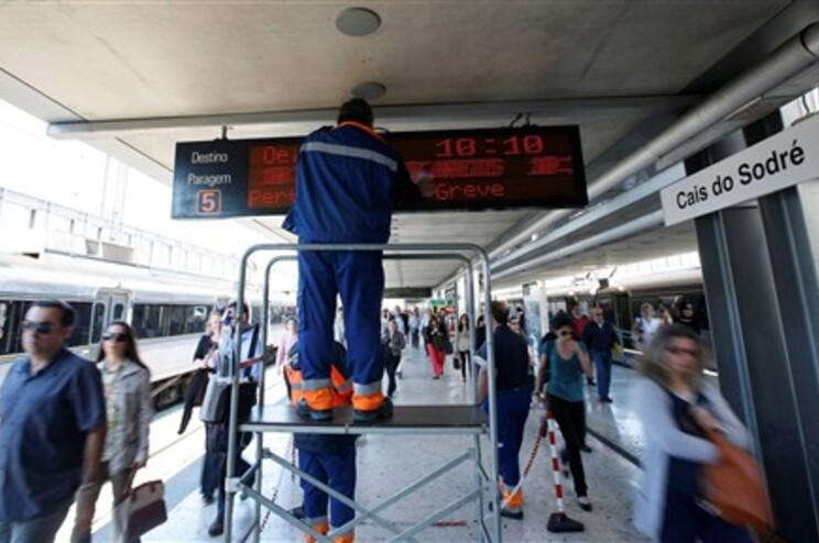 Greve dos revisores obrigou à supressão de 89% dos comboios até às 6 horas