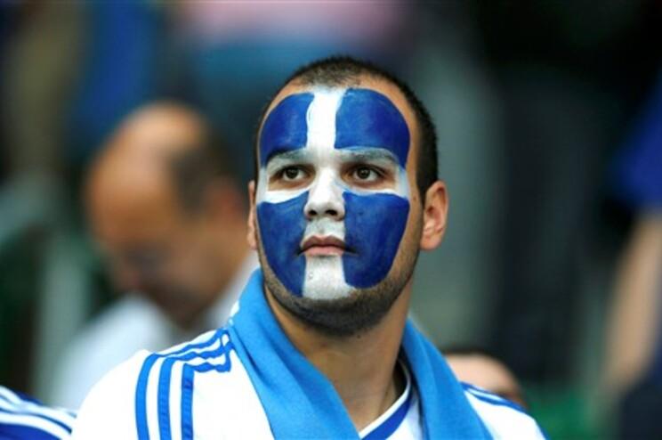Desilusão grega, também, no Euro 2012