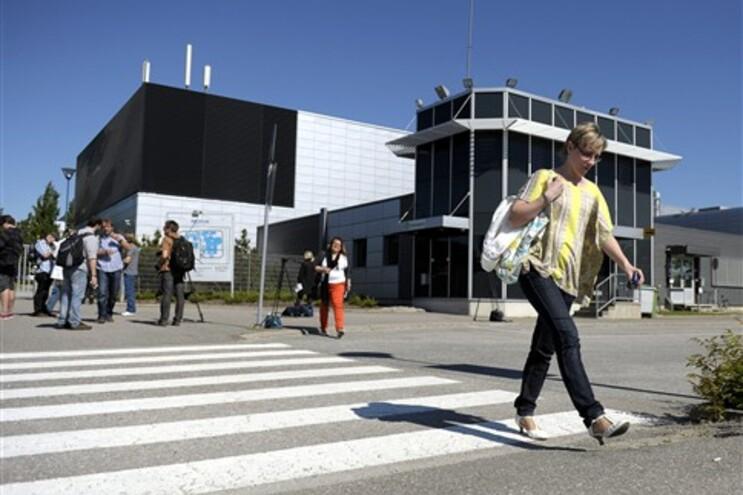 Fábrica da Nokia, em Salo, na Finlândia