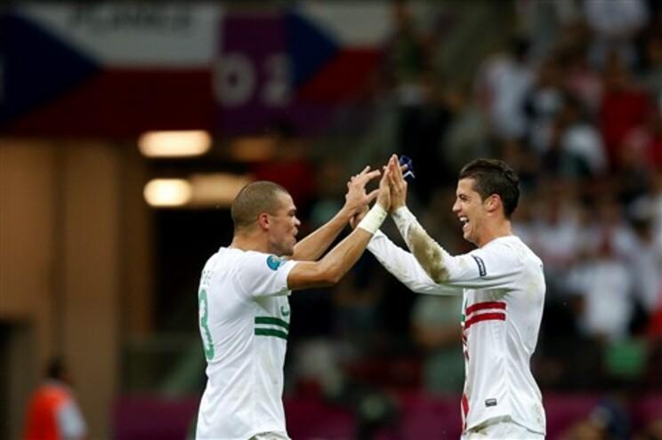 Ronaldo deu passagem às meias-finais a Portugal