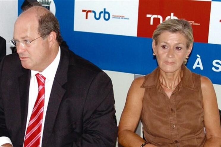 Vítor Sousa e Cândida Serapicos são, respetivamente, vice-presidente e vogal dos TUB