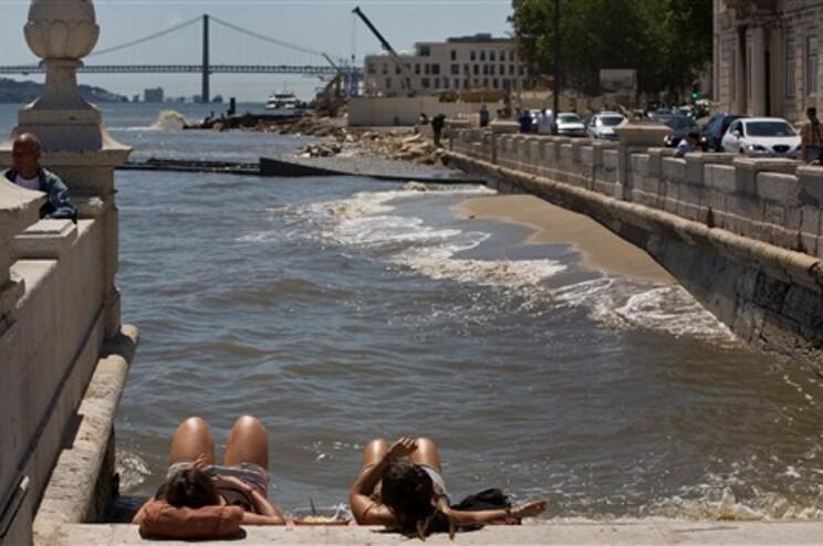 Temperaturas em Portugal continental vão atingir os 41º