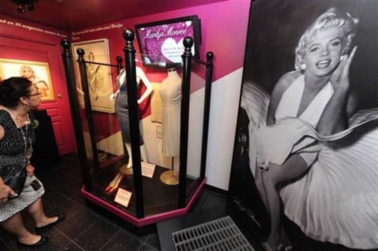 Objetos pessoais de Marilyn expostos em Hollywood