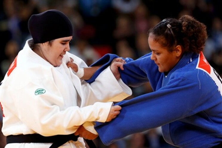 Primeira mulher saudita nos Jogos Olímpicos ganhou em