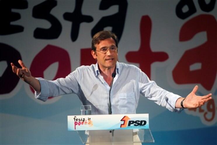 """Passos Coelho revela """"ambição"""" de """"renovar"""" mandato"""