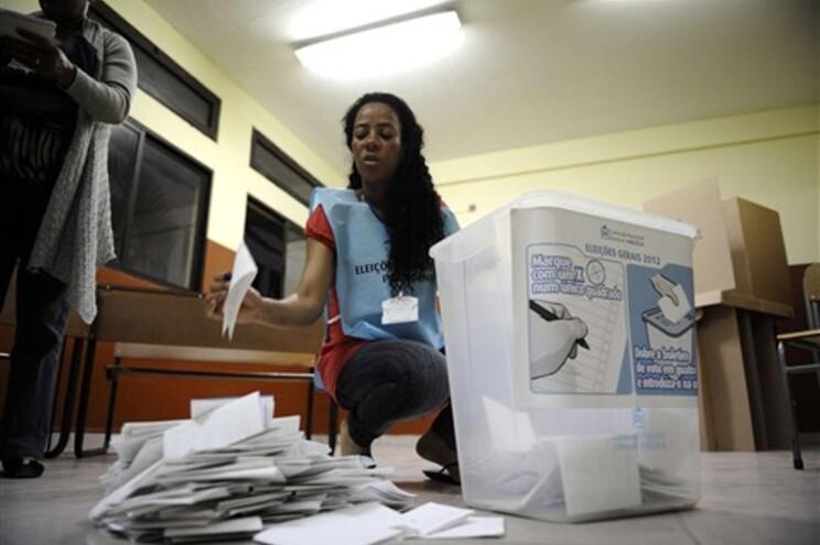 Contagem de votos em Angola