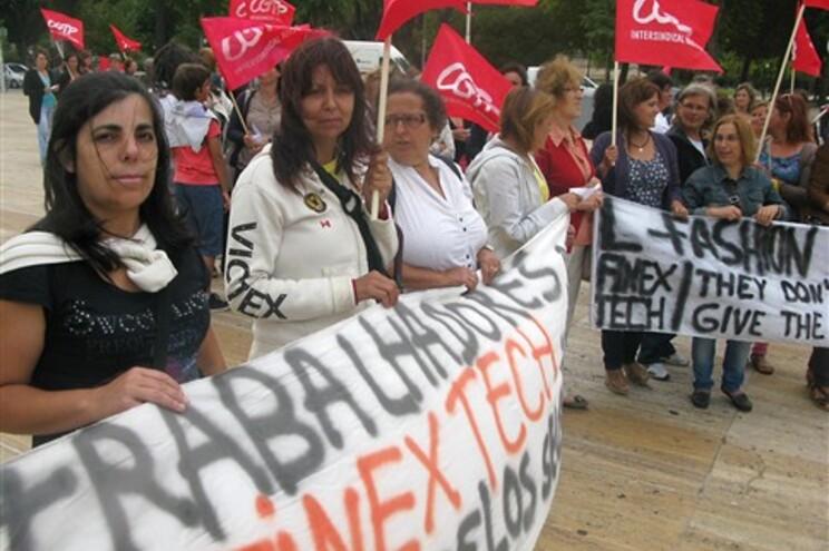 Manifestação da CGTP no Porto