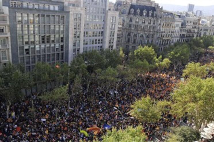 Entre 1,5 e dois milhões de pessoas participaram na manifestação