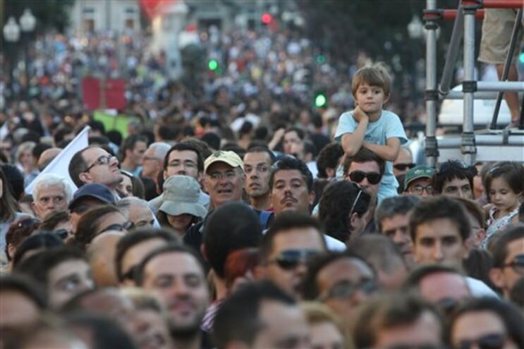 Promotores da manifestação de sábado disponíveis para ajudar a uma greve geral