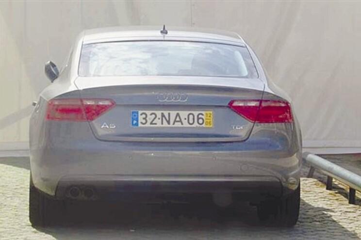 O Audi A5 de Carlos Zorrinho