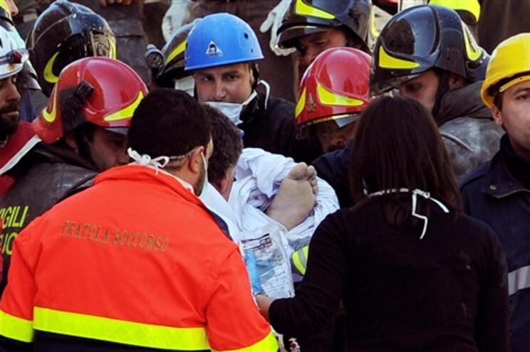 Sismo de magnitude 6,3 atingiu L'Aquila, em 2009, fazendo mais de 300 mortos
